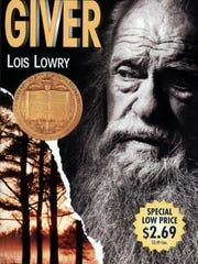 "The book cover for Lois Lowry's ""The Giver"""