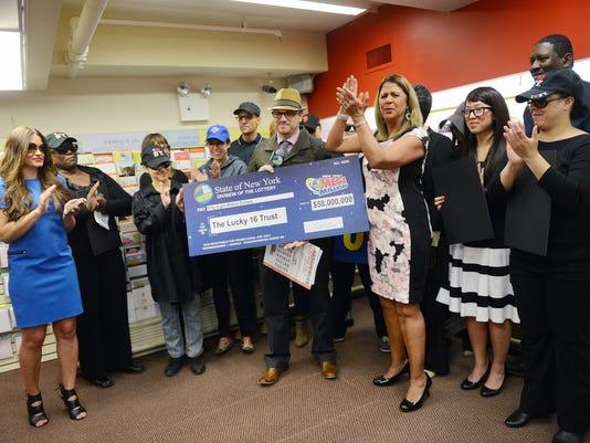 Workers Split Lottery Jackpot
