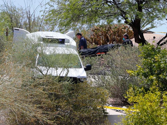 Two bodies were discovered in a Fountain Hills home