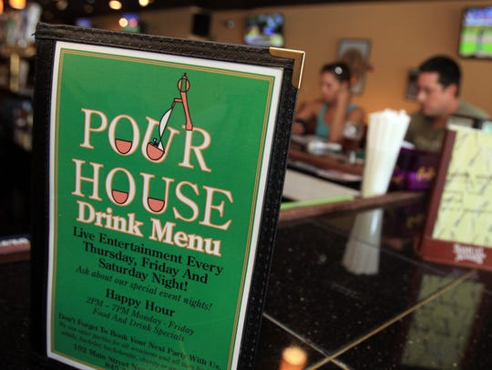 Pour House Bar and Grill on Main Street in Nyack will