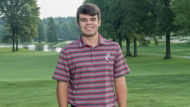 University of Cincinnati golfer Austin Squires made school history Wednesday, with the best finish ever by a Bearcats player at the NCAA Tournament.