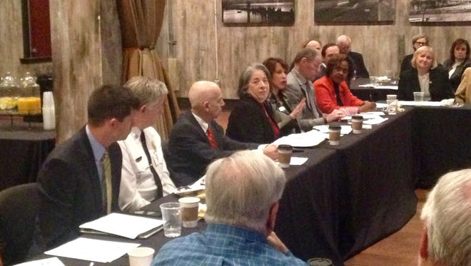 Knoxville Mayor Madeline Rogero and city staff and councilmen met with local state lawmakers Wednesday, Jan. 4 to discuss pressing issues that are likely to come up this legislative session.
