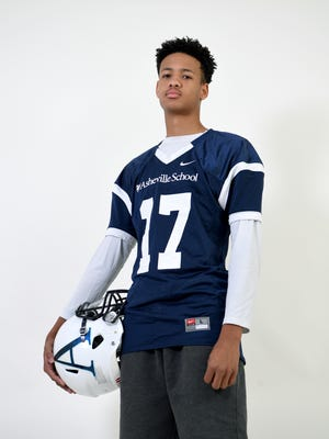 Ahmad Galimore is a senior quarterback for Asheville School.