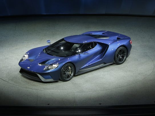 Ford introduced the 2016 Ford GT supercar during the