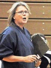 Kelly Graham coached 20 varsity volleyball seasons