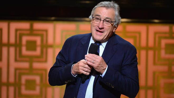 "Robert De Niro speaks onstage at Spike TV's ""Don Rickles: One Night Only"" on May 6, 2014 in New York City."