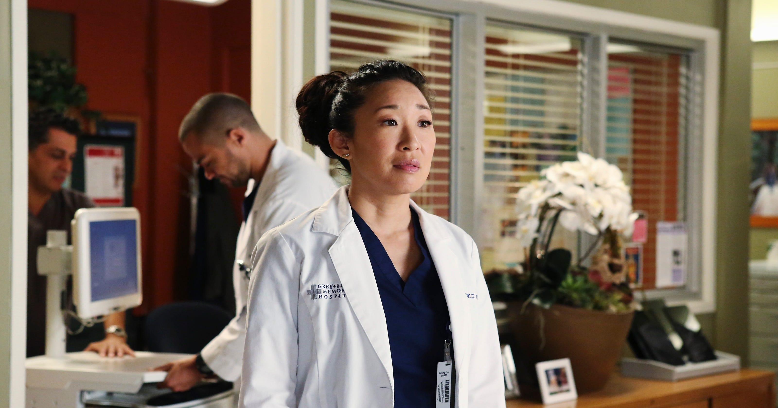 Sandra Oh shoots final \'Grey\'s Anatomy\' scenes