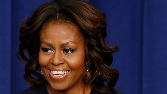 """Michelle Obama will join Jimmy Fallon's debut week on """"The Tonight Show."""""""