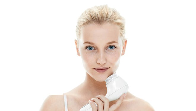 Winter's cold can leave skin dry and needing help to get ready for spring. Try skin revitalizing products such as the Clarisonic brush.