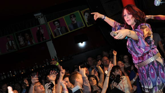 Singer Tiffany performs in New York in 2012. She will perform at Conch Island Key West Bar and Grill in Rehoboth Beach Friday night.