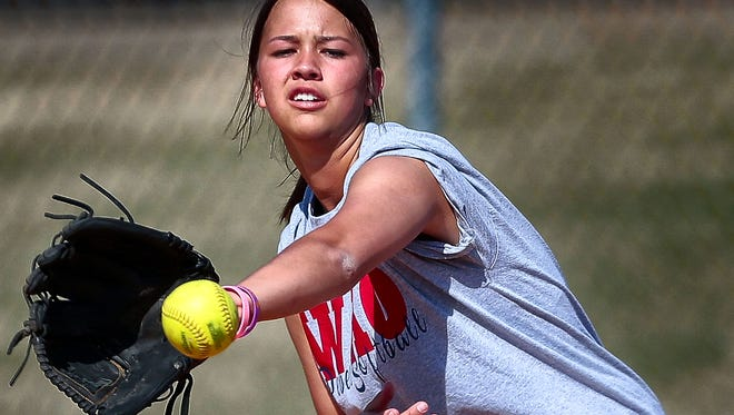 Rachel Whitley and Tipton-Rosemark will be competing for the Division II-A softball title at Spring Fling this week.