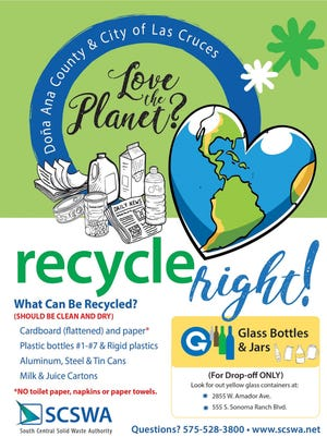 The South Central Solid Waste Authority has launched a new campaign to promote recycling right.
