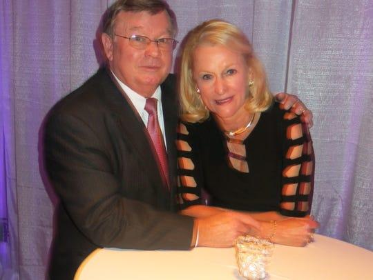 Blanchard Walker attorney Tim Allen and wife Moise Allen at centennial celebration.