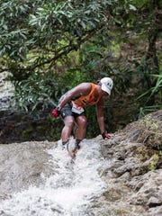 Triathlete, endurance runner, cyclist and mom Blanda Camacho is busy all year, but her November was packed with a new event every weekend. She did more than a dozen races total in 2015, including the XTERRA Guam in April.