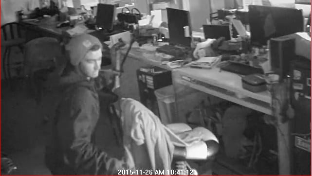 The Polk County Sheriff's Office is seeking the public's help finding a burglary suspect at Trails End Auto Salvage, 1600 N.E. 44th Ave. in Des Moines.
