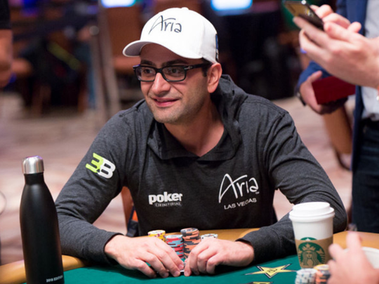 Antonio Esfandiari bagged his ESPN gig so he could
