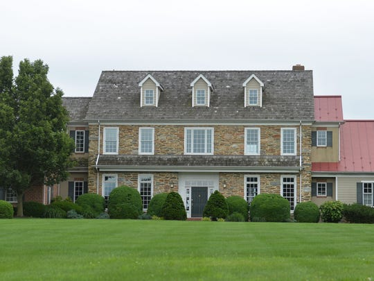 The Inn at Wyndridge Farm has five bedrooms and can comfortably sleep between 15-18 people.