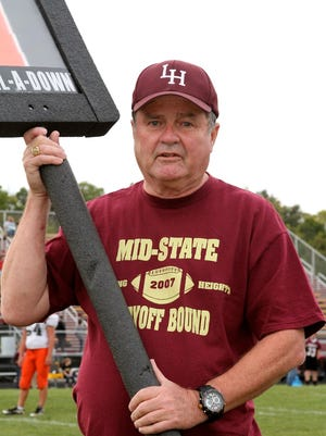 Jerry Wheeler, a 1965 Licking Heights graduate, has been a part of the chain gang for 48 seasons.