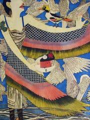 """Wings"" by Yuji Hiratsuka, 2012. A retrospective of"