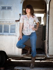 Eleanor Friedberger performs Wednesday at Higher Ground in South Burlington.