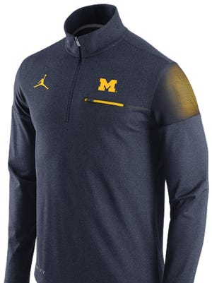 A new Michigan jacket with the Nike Jumpman logo