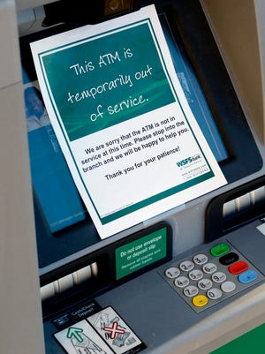 A skimmer was placed on the ATM at the Prices Corner WSFS location over the weekend. WSFS officials became aware of the problem Sunday morning.