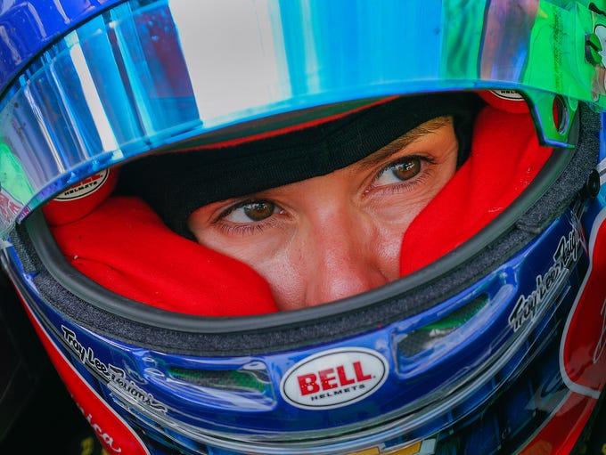 Ed Carpenter Racing IndyCar driver Danica Patrick (13)
