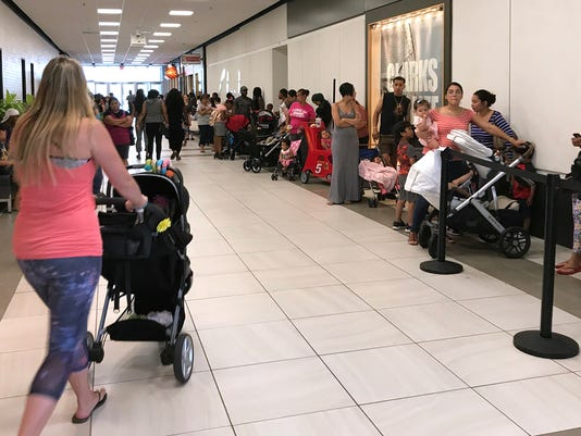 Build a Bear sale at Willowbrook Mall.