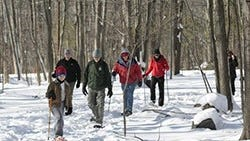 Pyramid Mountain will host Snowshoe Sundays for snowshoers of all ages and abilities.