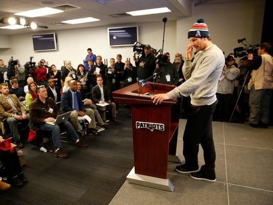 NFL: New England Patriots-Tom Brady Press Conference
