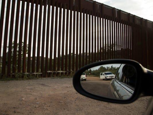 border fence rhetoric