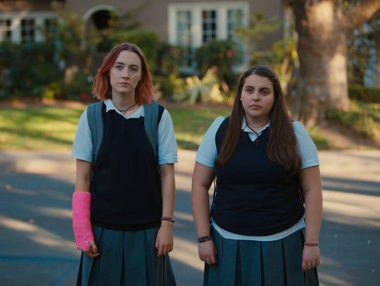 Saoirse Ronan and Beanie Feldstein play feuding best