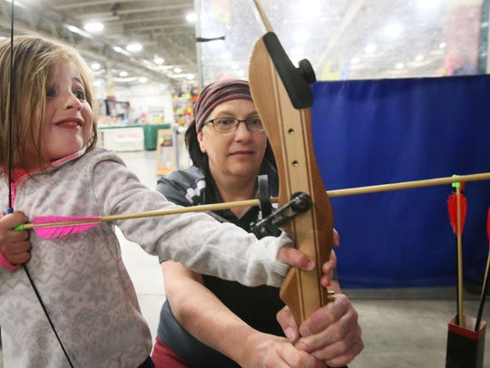 Everything from archery to log-rolling, and anything else that'll keep you outdoors, is on display at the Milwaukee Journal Sentinel Sports Show, which begins March 6.