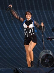 Camila Cabello sings at Metlife Stadium in East Rutherford,