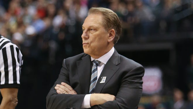 Michigan State head coach Tom Izzo.