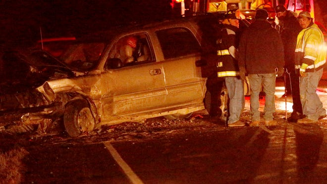 Webb Mills and Pine City fire departments responded to a two vehicle crash with injuries around 5:30 p.m. near the intersection of Sagetown Road and Clark Hollow Road in Pine City.