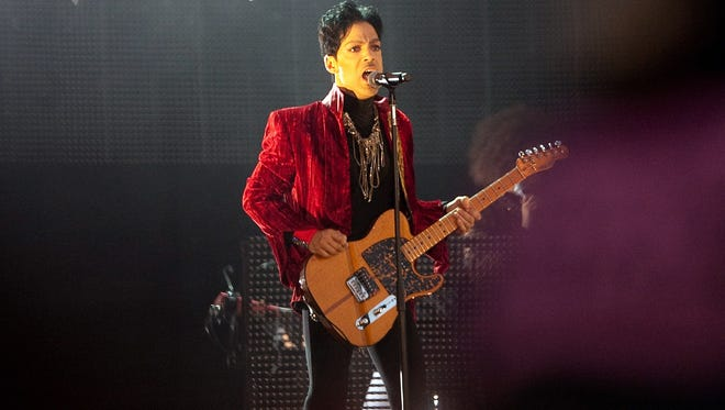 Prince performs at Sziget (Island) Festival on August 9, 2011 in Budapest.