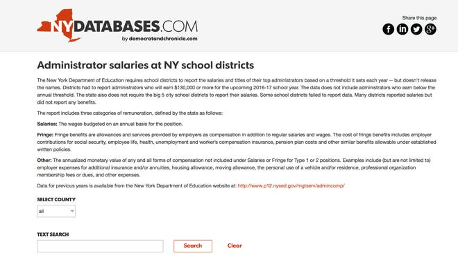 A LoHud database allows you to see the top-paid positions in your local school district.
