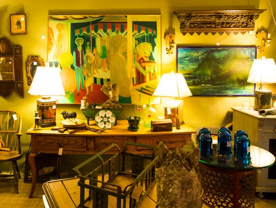 Art and antiques on display at the Thomasville Antiques