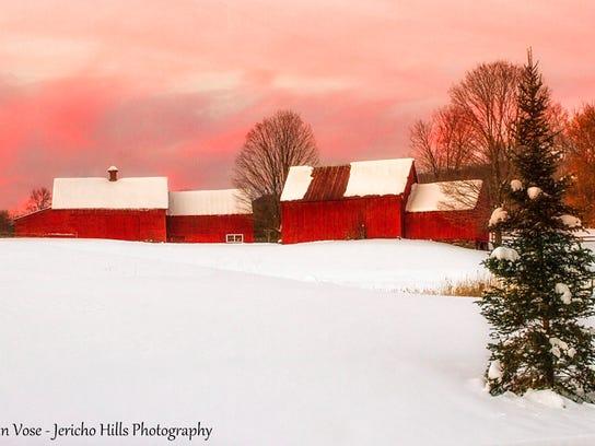 Quechee Red Barn