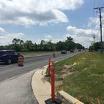 Construction on a multi-use path has caused temporary lane restrictions along the north side of 146th street in Hamilton County.