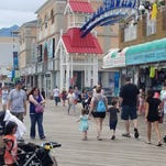 What's the beach look like in Ocean City: live webcams