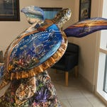 Milton is getting a sea turtle statue