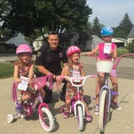 Sweet! Cops reward bike safety with ice cream, candy