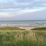 Lake Michigan — sometimes chatty, sometimes silent — is our most noticeable neighbor
