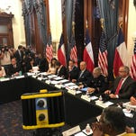 """Gov. Abbott: Texas must keep guns away from those who would """"murder our children"""""""
