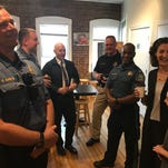 Boonton police launch 'Coffee with a Cop' on Main Street