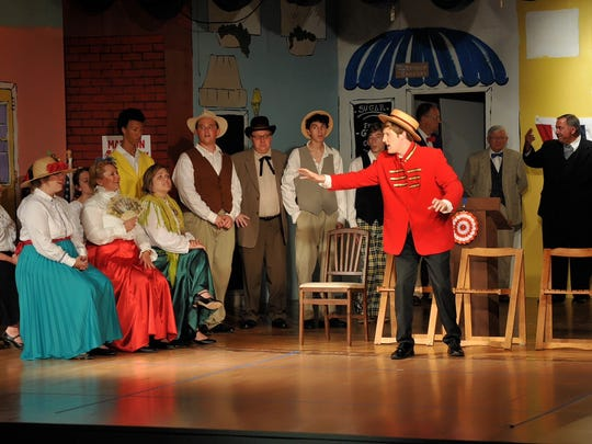 "The Millbrook Community Players will present ""The Music Man"" at the Millbrook Theatre on July 20-23 and July 27-30."