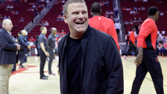 New Houston Rockets owner Tilman Fertitta says he's open to changes if fans want them.