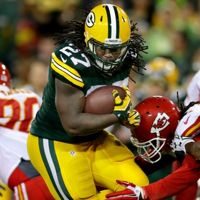 Green Bay Packers running Eddie Lacy will be Monday's